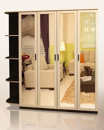 Распашной шкаф недорого по индивидуальным размерам в Москве фото