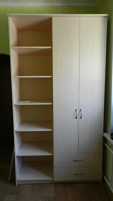 2-х створчатый распашной шкаф