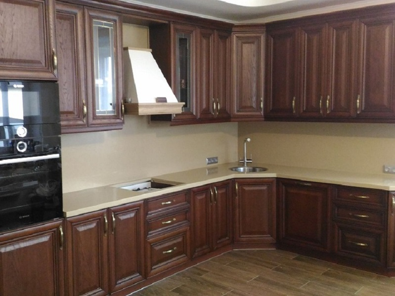 кухня из массива Комо