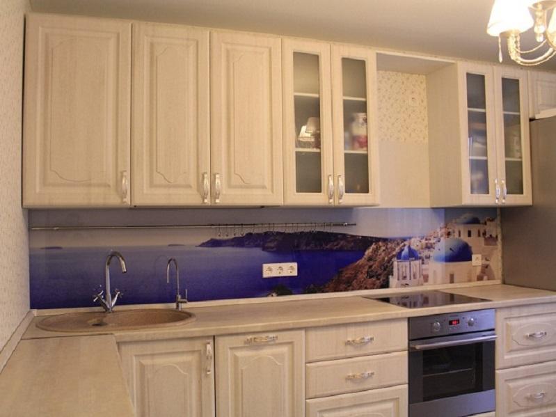 кухня МДФ в пленке Гланз