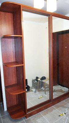 Корпусный шкаф купе 2 секции