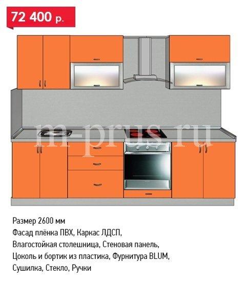 Кухни на заказ в Москве от производителя по индивидуальным ...