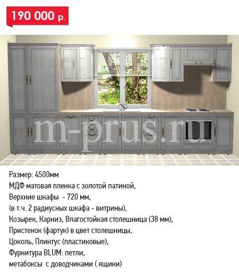 Кухни на заказ по индивидуальным размерам недорого в Москве