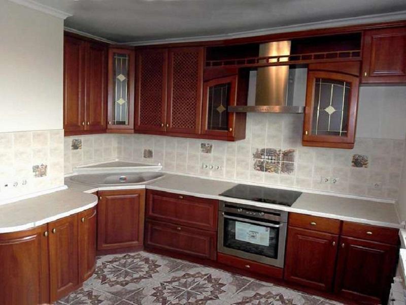 кухня из массива классика Лайф