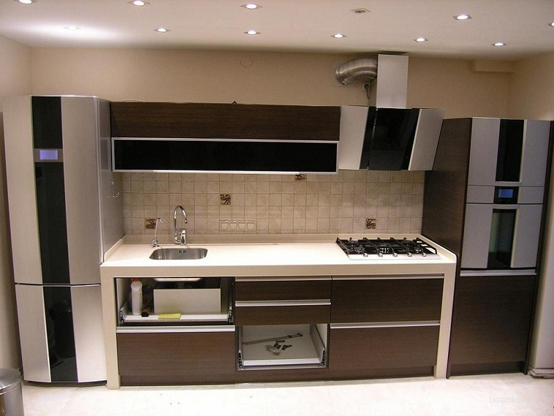 кухня из массива модерн Жан