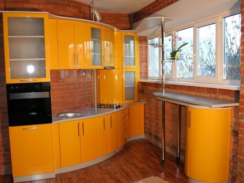 кухня с барной стойкой Лоренция