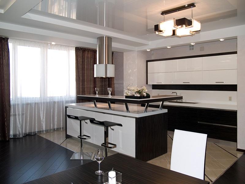 кухня с барной стойкой Мальвина
