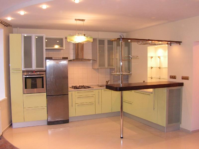 кухня с барной стойкой Фолиант