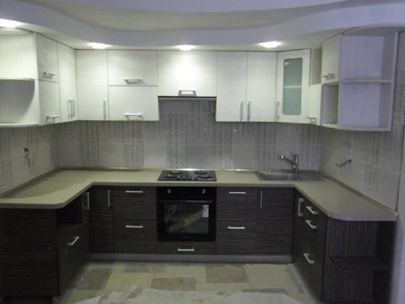 п-образная кухня Меренга
