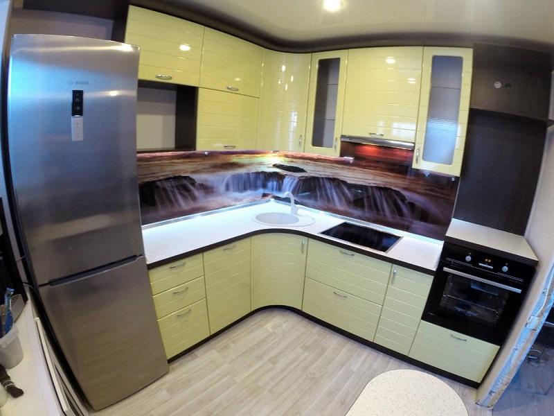угловая кухня Фанта