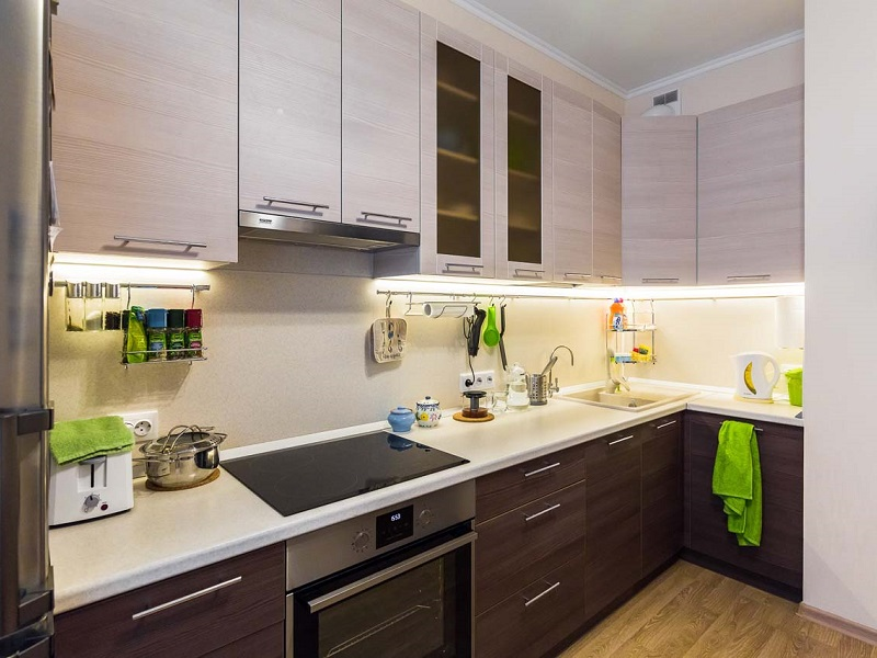 кухня из пластика Адель