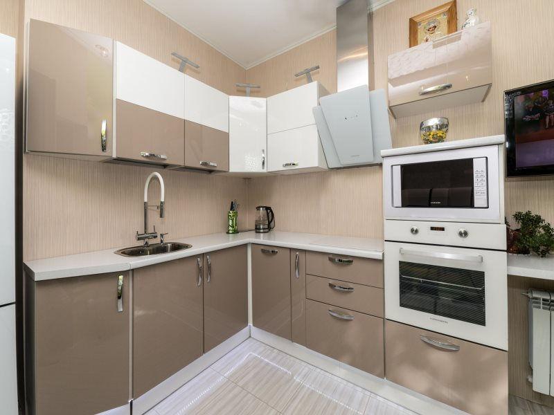 модульная кухня с фасадами МДФ в пленке Канада