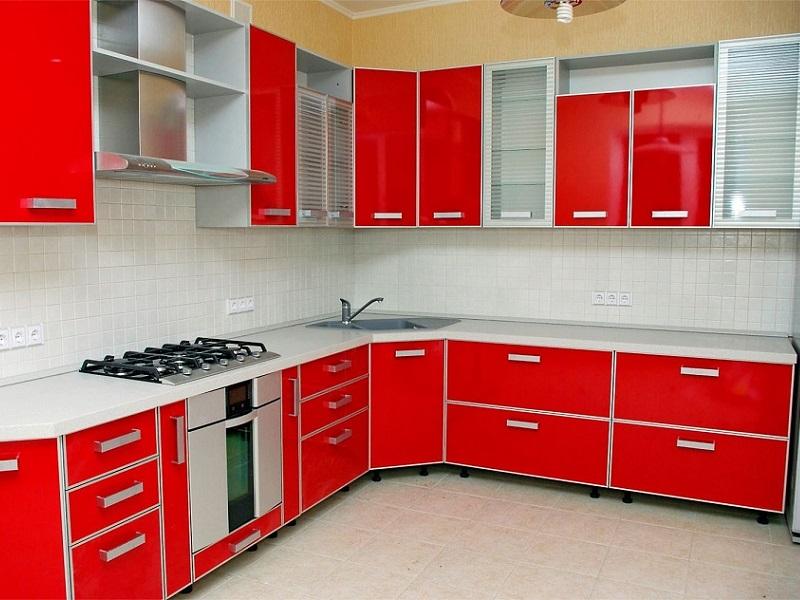 кухня из пластика Розали