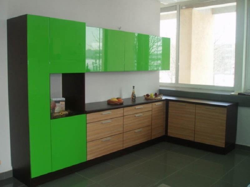 кухня из пластика Театро